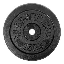 Acél súlyzótárcsa inSPORTline 15 kg