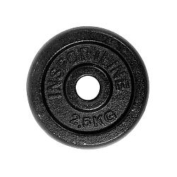 Acél súlyzótárcsa inSPORTline 2,5 kg