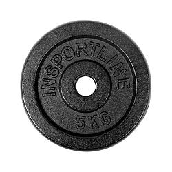 Acél súlyzótárcsa inSPORTline 5 kg