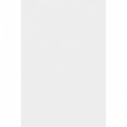 Amscan Abrosz - műanyag, fehér 137 x 274 cm