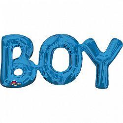 Amscan BOY fólia lufi