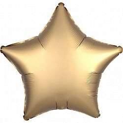 Amscan Csillag fólia lufi - Arany
