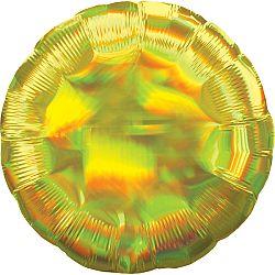 Amscan Fólia lufi - Holografikus arany gömb