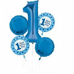 Amscan Kék lufik - 1. születésnap