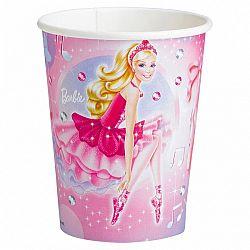 Amscan Poharak - Barbie és a rózsaszín balerinák 8 ks