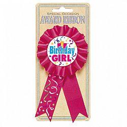 Amscan Születésnapi szalag - lány