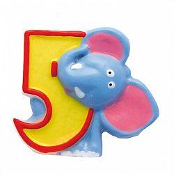 Amscan Születésnapi szám gyertya - Szafari 5