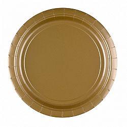 Amscan Tányérok - arany 8 db
