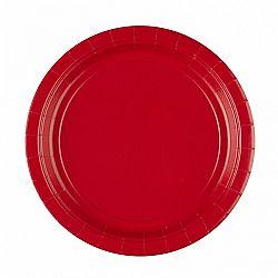 Amscan Tányérok - piros 8 db