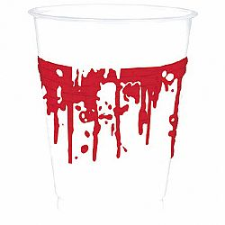 Amscan Véres poharak 10 db