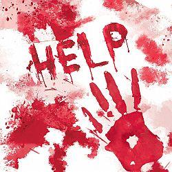 Amscan Véres szalvéták - HELP