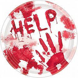 Amscan Véres tányérok - HELP