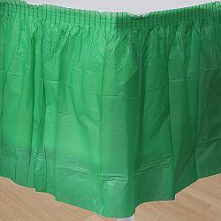 Amscan Zöld bankett szoknya 426 x 73 cm