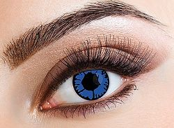 Eyecasions Kontaktlencse - Blue Flame