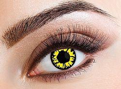 Eyecasions Kontaktlencse - Explosion Yellow