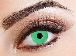 Eyecasions Kontaktlencse - Green világító