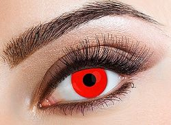 Eyecasions Kontaktlencse - Red világító