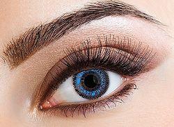 Eyecasions Kontaktlencse - Two Tone Blue