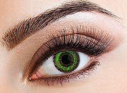 Eyecasions Kontaktlencse - Two Tone Green