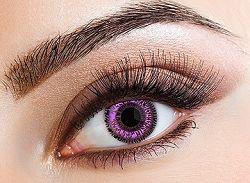 Eyecasions Kontaktlencse - Two Tone Violet