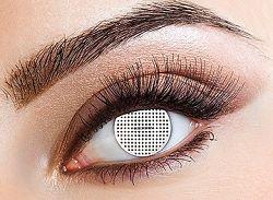 Eyecasions Kontaktlencse - White Mesh