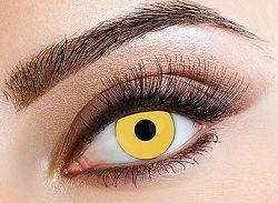 Eyecasions Kontaktlencse - Yellow világító
