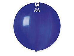Gemar Gömb pasztell lufi 80 cm - kék