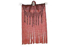 Guirca Csontváz piros ponyvában