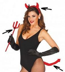Guirca Ördöglány szett