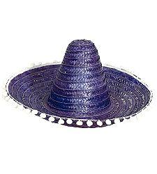 Guirca Sombrero 60 cm Szín: Kék