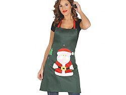 Guirca Zöld karácsonyi kötény