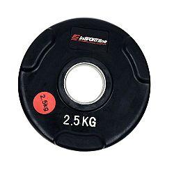 Gumírozott súlyzótárcsa inSPORTline Olympic 2,5 kg-II.osztály