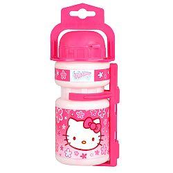 Hello Kitty műanyag palack tartóval