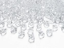 PartyDeco Átlátszó gyémánt kövek