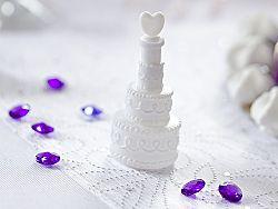 PartyDeco Esküvői torta formájú buborékfújó