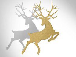 PartyDeco Függő dekoráció - arany színű