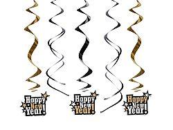 PartyDeco Függő dekoráció - Happy New Year!