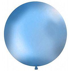 PartyDeco Gömb latex Jumbo lufi 1m - kék