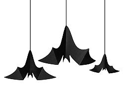 PartyDeco Halloween dekoráció - denevérek