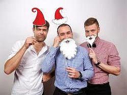PartyDeco Kellékek fényképezéshez - Santa