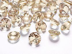 PartyDeco Konfetti - arany gyémánt 20 mm