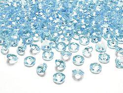 PartyDeco Konfetti - türkiz gyémánt 12 mm
