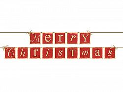 PartyDeco Merry Christmas banner