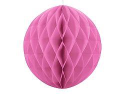 PartyDeco Papír gömb - baba rózsaszín 40 cm
