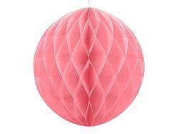 PartyDeco Papír gömb - rózsaszín 40 cm
