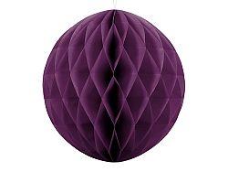PartyDeco Papír gömb - sötét lila 40 cm
