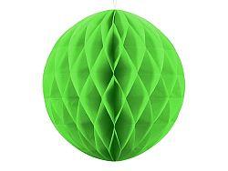 PartyDeco Papír gömb - világoszöld 40 cm