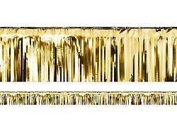 PartyDeco Party függöny - arany 18,5 x 400 cm