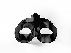 PartyDeco Party maszk - fekete