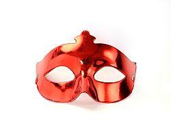 PartyDeco Party maszk - piros